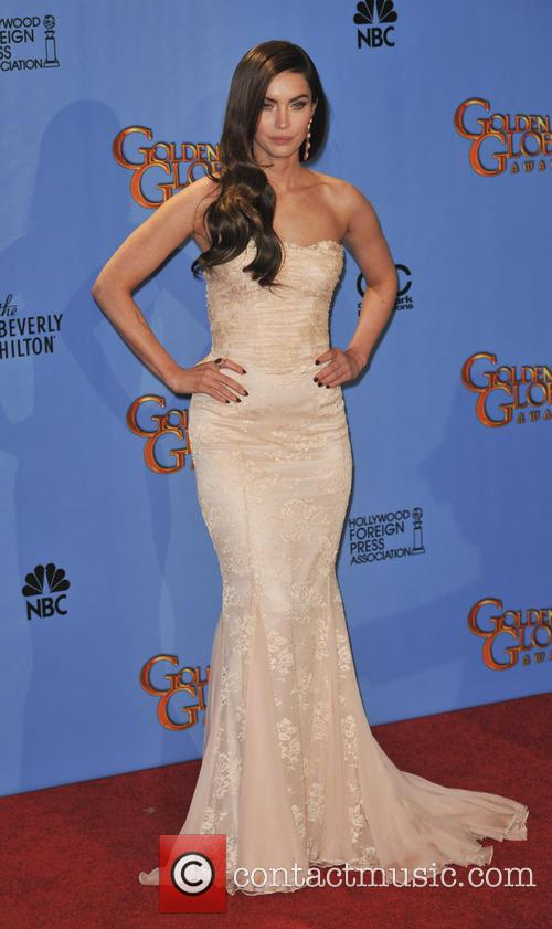 Megan Fox Golden Globes Dress 2013