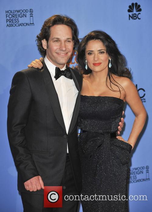 Paul Rudd, Salma Hayek and Beverly Hilton Hotel 3