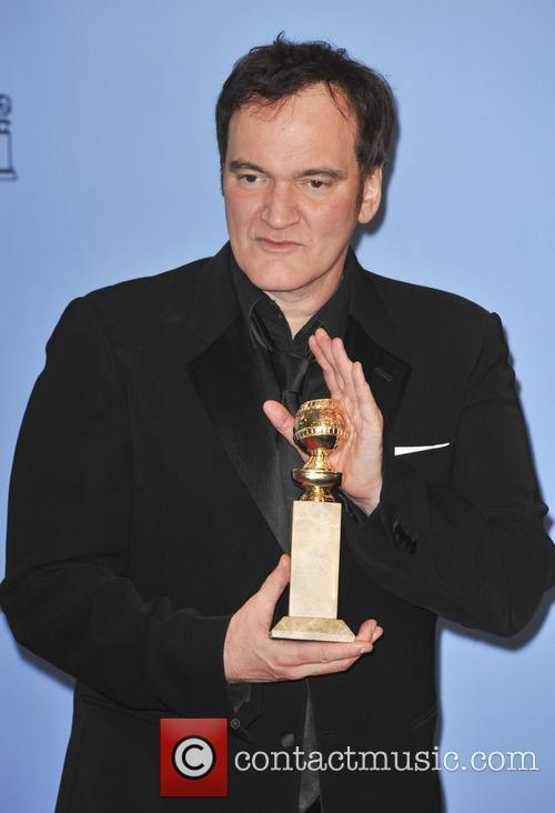 Quentin Tarantino at the Golden Globes