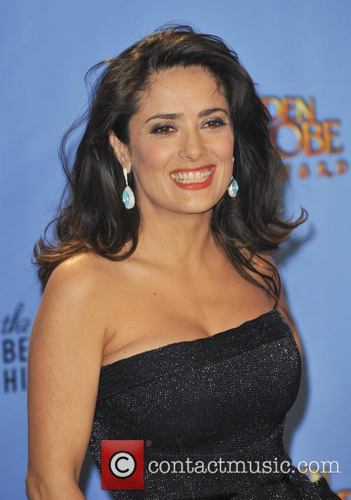 Salma Hayek and Beverly Hilton Hotel 7