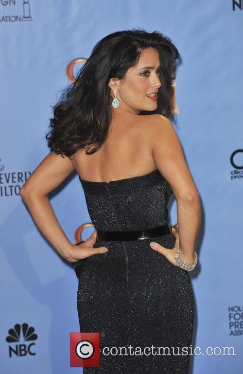 Salma Hayek and Beverly Hilton Hotel 6