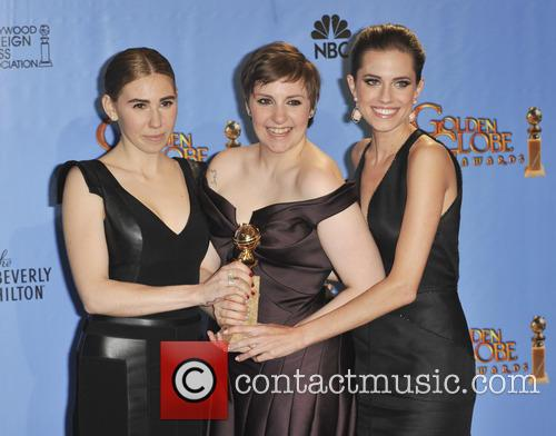 Zosia Mamet, Allison Williams, Lena Dunham and Beverly Hilton Hotel 3