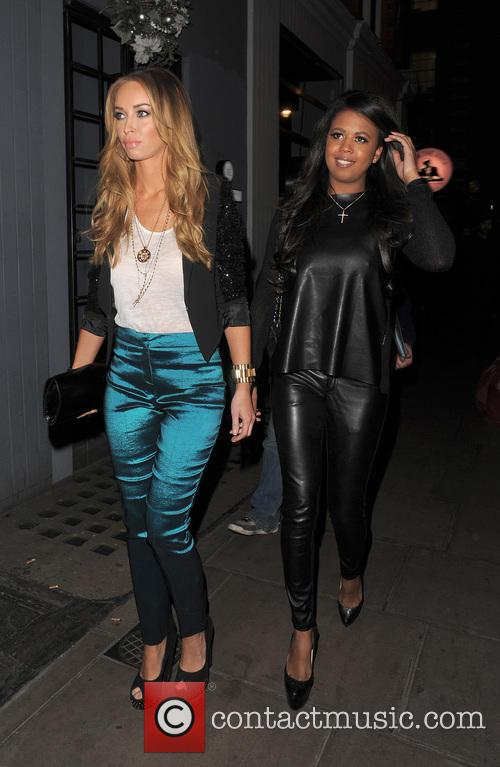 Lauren Pope, Danni Park-Dempsey and Groucho Club 1