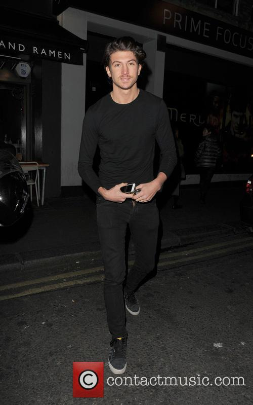Tom Kilbey Tom Kilbey arriving at the TOWIE...