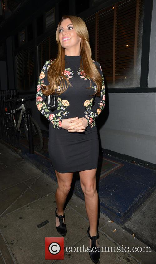 TOWIE Christmas Party held at Groucho Club in...