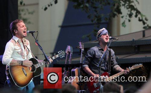 Performing at the Grove
