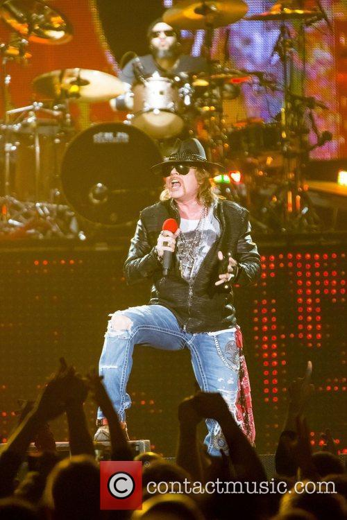 Axl Rose and Guns N Roses 9