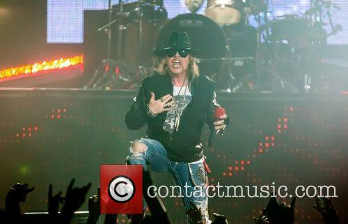 Axl Rose and Guns N Roses 10