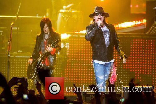 Axl Rose and Guns N Roses 12