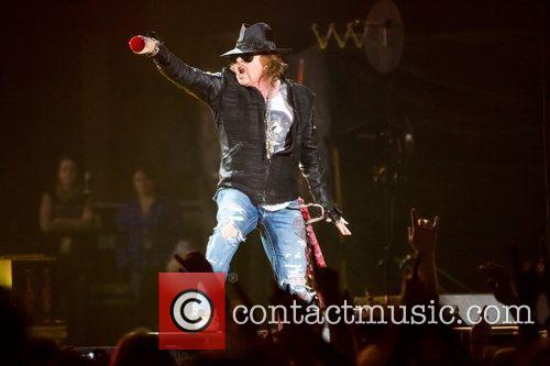 Axl Rose and Guns N Roses 13