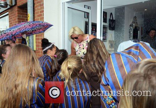 Gemma Collins  at the opening of 'Harry's...