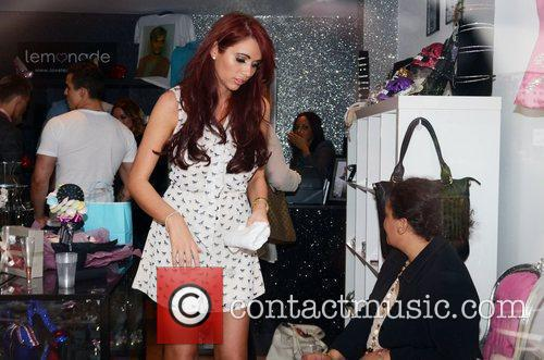 Harry Derbidge And Amy Childs  at the...