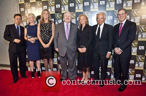 David Lauren, Joanna Coles, Leslie Iwerks, Frank Bannack Jr., Hearst Rikki Lauren, Ralph Lauren and David Carey 3