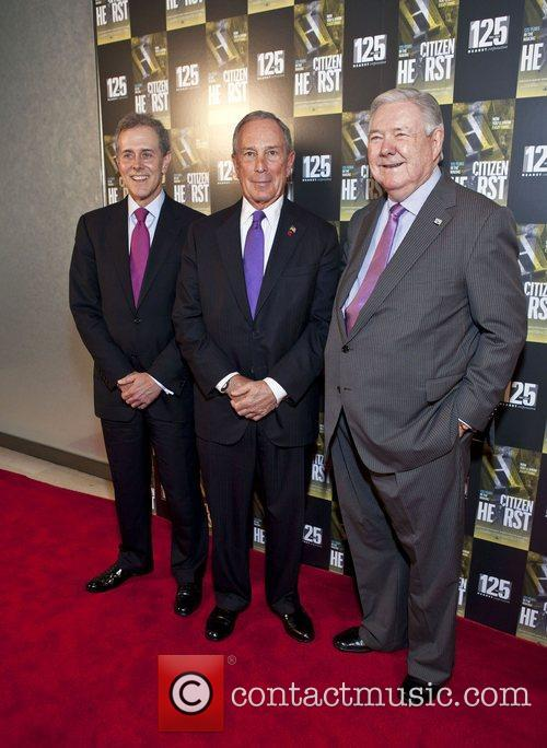 Steven R. Swartz, Mayor Michael Bloomberg , Frank...