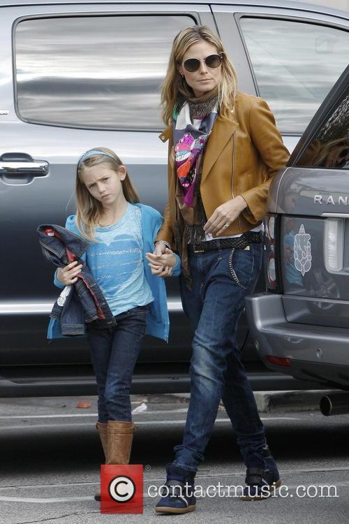 Heidi Klum and Leni Samuel 4