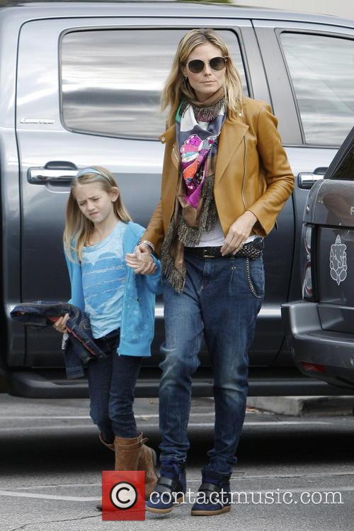 Heidi Klum and Leni Samuel 5