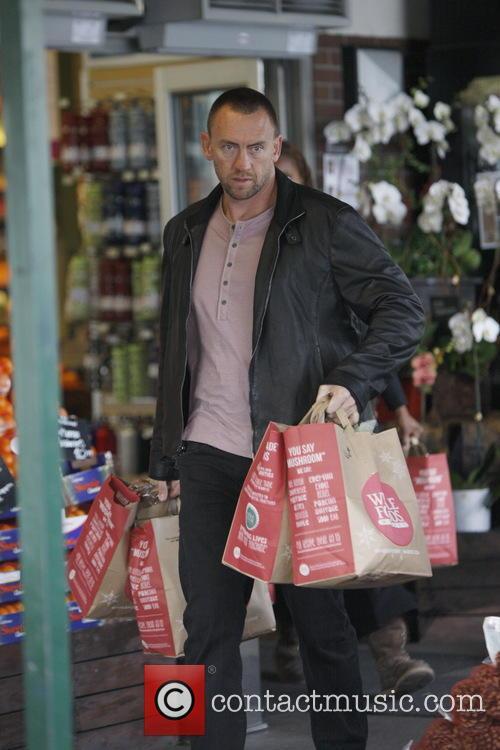 Martin Kirsten Heidi Klum shopping for groceries at...