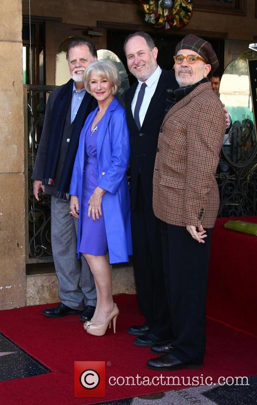 Helen Mirren, Taylor Hackford, David Mamet and Jon Turtletaub