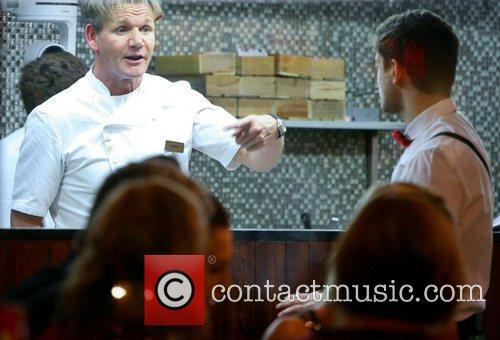 Gordon Ramsay and Will 2