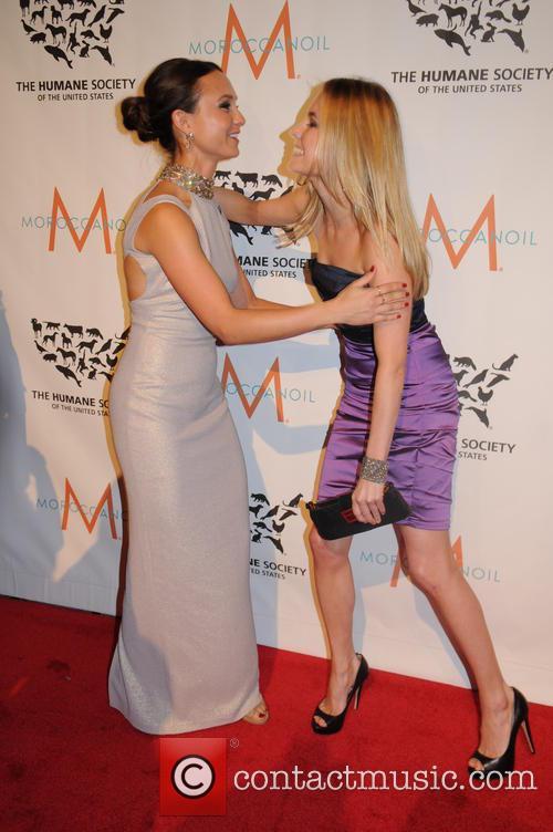 Georgina Bloomberg and Amanda Hearst 8