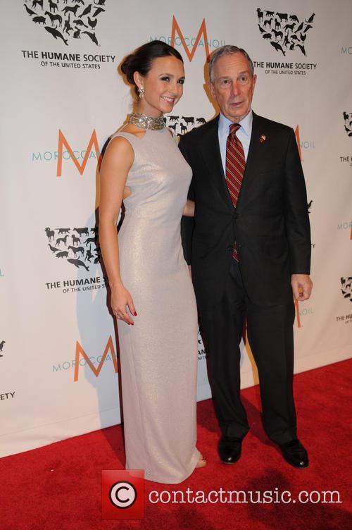 Georgina Bloomberg and Mayor Michael Bloomberg 6