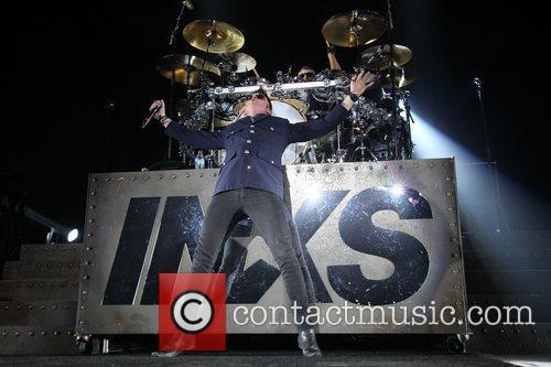 INXS performing live at Perth Arena.