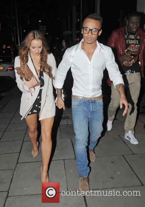 JLS leaving Mahiki nightclub  Featuring: Aston MerrygoldWhere:...