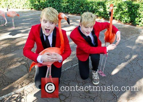 Jedward John Grimes and Edward Grimes meet some...