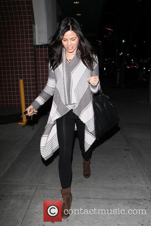 Jenna Dewan-Tatum leaving a hair salon in Beverly...