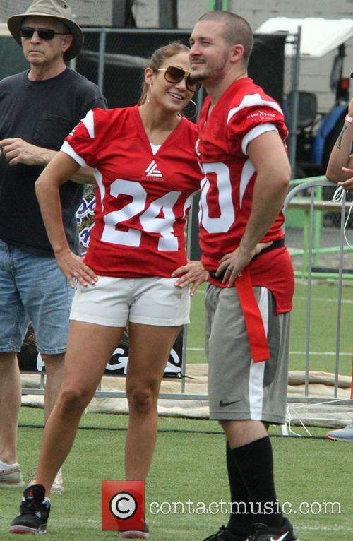 Jennifer Lopez Jennifer Lopez on the sideline at...