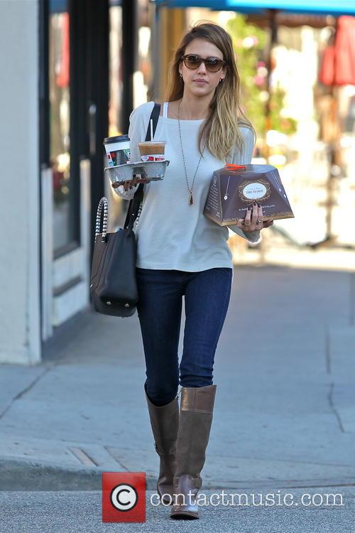 Jessica Alba, Tres Marie and Beverly Hills 13
