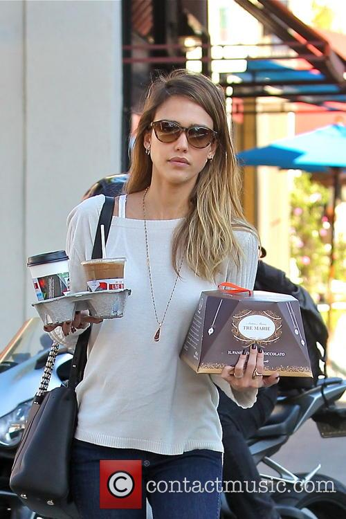 Jessica Alba, Tres Marie and Beverly Hills 14