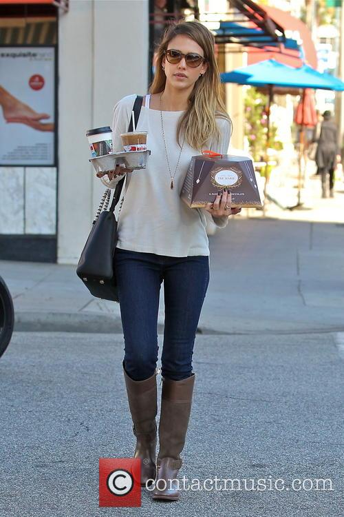 Jessica Alba, Tres Marie and Beverly Hills 15