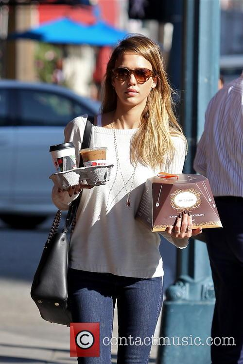 Jessica Alba, Tres Marie and Beverly Hills 11