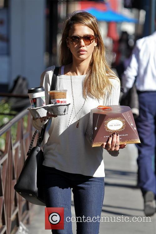 Jessica Alba, Tres Marie and Beverly Hills 10