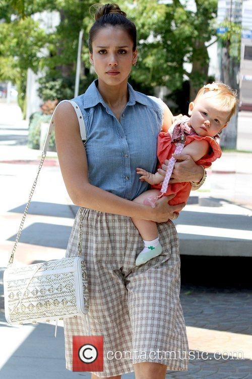 jessica alba and haven warren out and 5868540