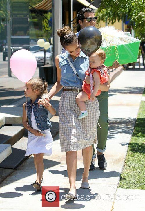 Jessica Alba and Cash Warren 1