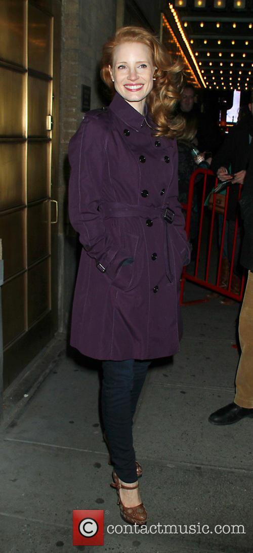 Jessica Chastain Jessica Chastain at the Walter Kerr...