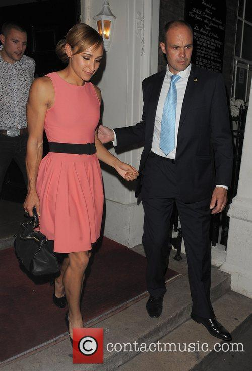 olympic gold medalist jessica ennis leaving omega 4026000