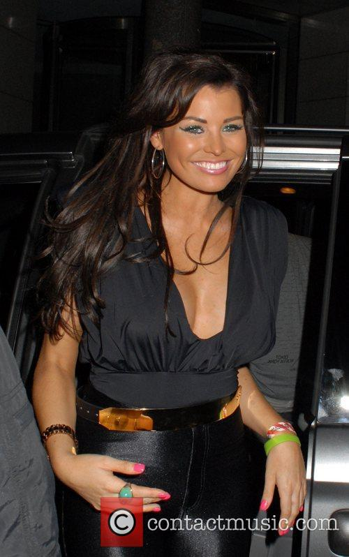 Leaving Anaya Nightclub after attending the launch party