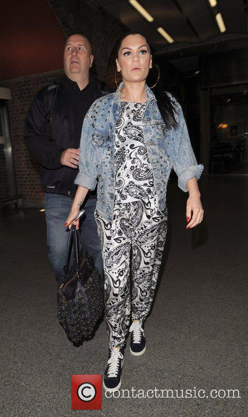 Jessie J aka Jessica Cornish arrives at St...