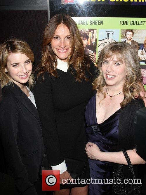 Emma Roberts, Julia Roberts and Lisa Roberts 2