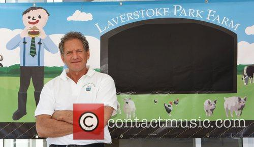 Beside his Laverstoke Farm Logo used on his...