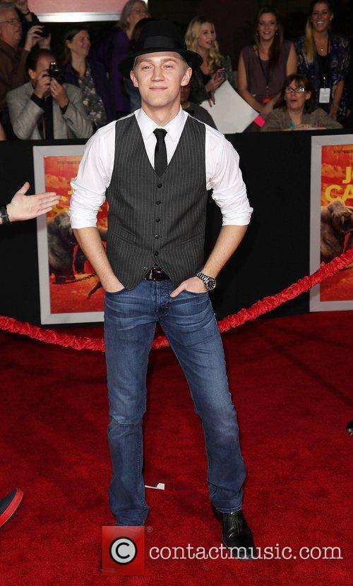 Actor Jason Dolley  Premiere of Walt Disney...