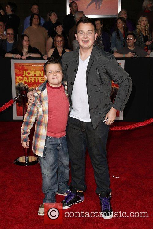 Ethan Munck and Noah Munck  Premiere of...