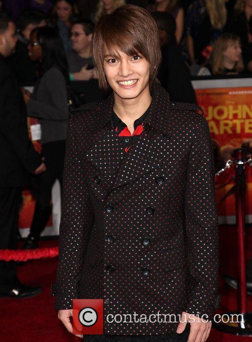 Japanese actor Yuma Nakayama   Premiere of...