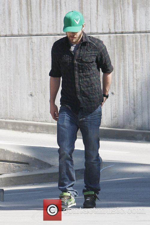 Justin Timberlake out and about in Hollywood Los...