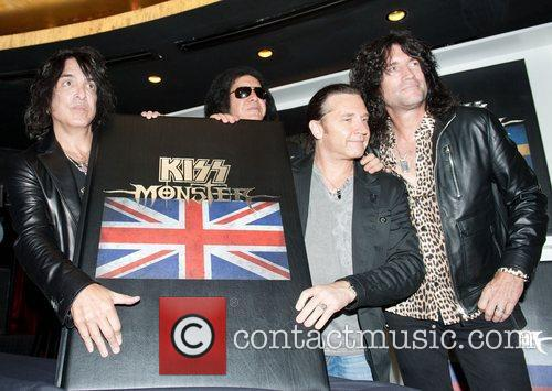 Paul Stanley, Gene Simmons, Eric Singer and Tommy...