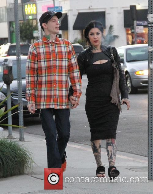 Kat Von D and Deadmaus 3