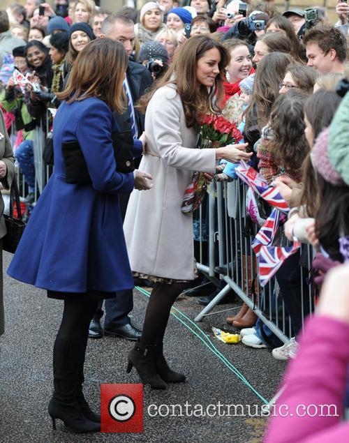 Prince William, Duke, Cambridge, Catherine, Duchess and Peterborough City Hospital. It 18